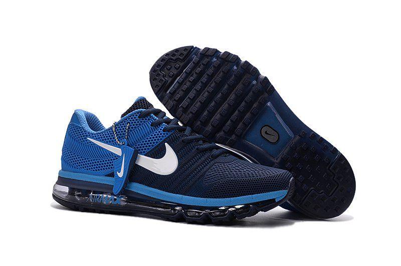Nike Air Max 2011 Hombres Azul Oscuro Azul 2017 Kpu barato Air Max 2017 Azul e0ca55