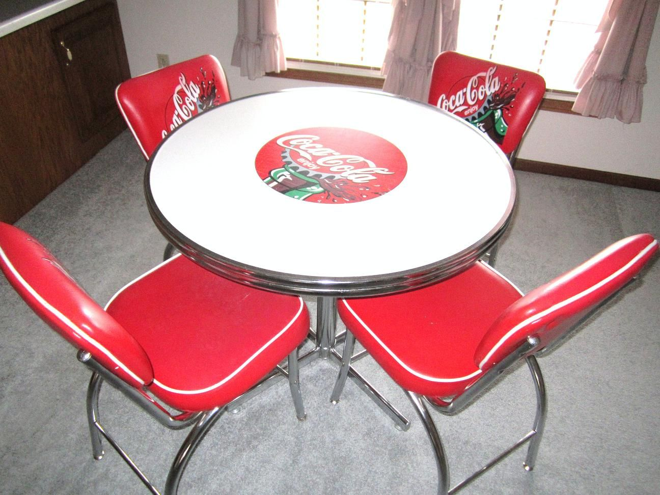 This Coke Dining Table And Chairs Set Is Just One Of Many