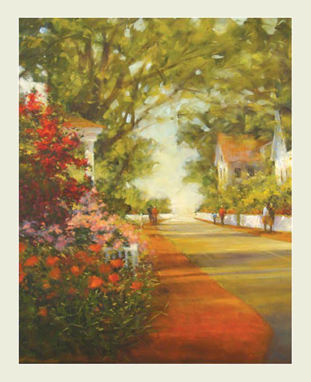 Landscape painting, Landscape print, Wall art, Home Decor, Art print ...