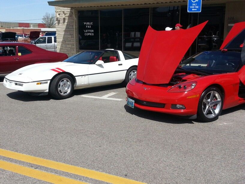 Casper WY. Memorial day car show Corvette c4, Car show