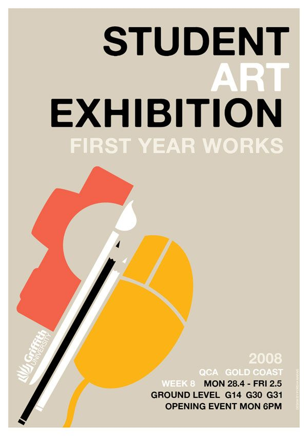 Exhibition Stand Poster Design : Like pastel colors and use of different vectors to make
