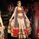 Lakme fashion week Lehenga by JJ Valaya