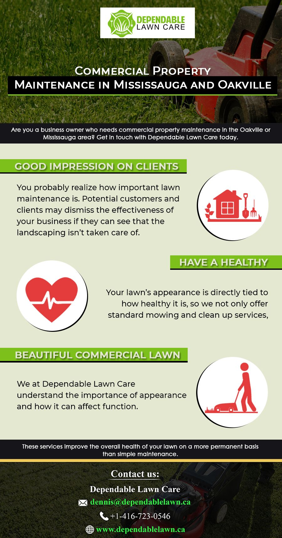 commercial lawn services near me on looking for commercial property maintenance service commercial property mississauga lawn care pinterest