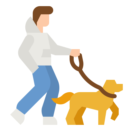 Dog Walking Free Vector Icons Designed By Photo3idea Studio Vector Free Free Icons Vector Icon Design