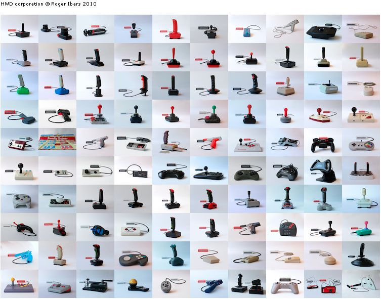 Joysticks over the years
