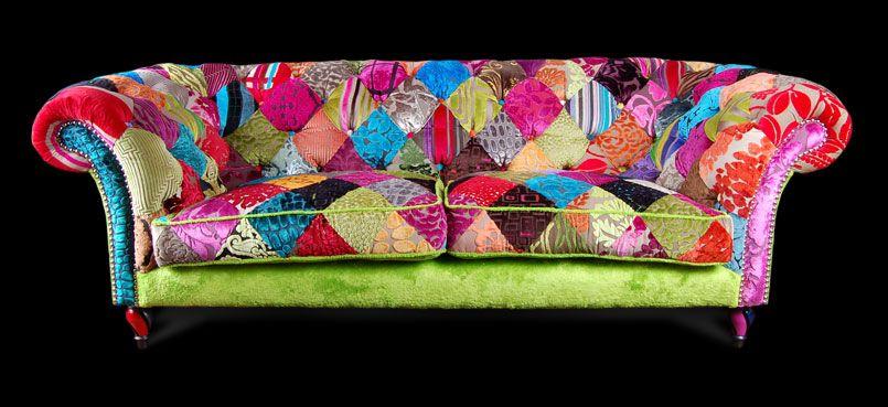 Patchwork Sofa By Ginny Avison