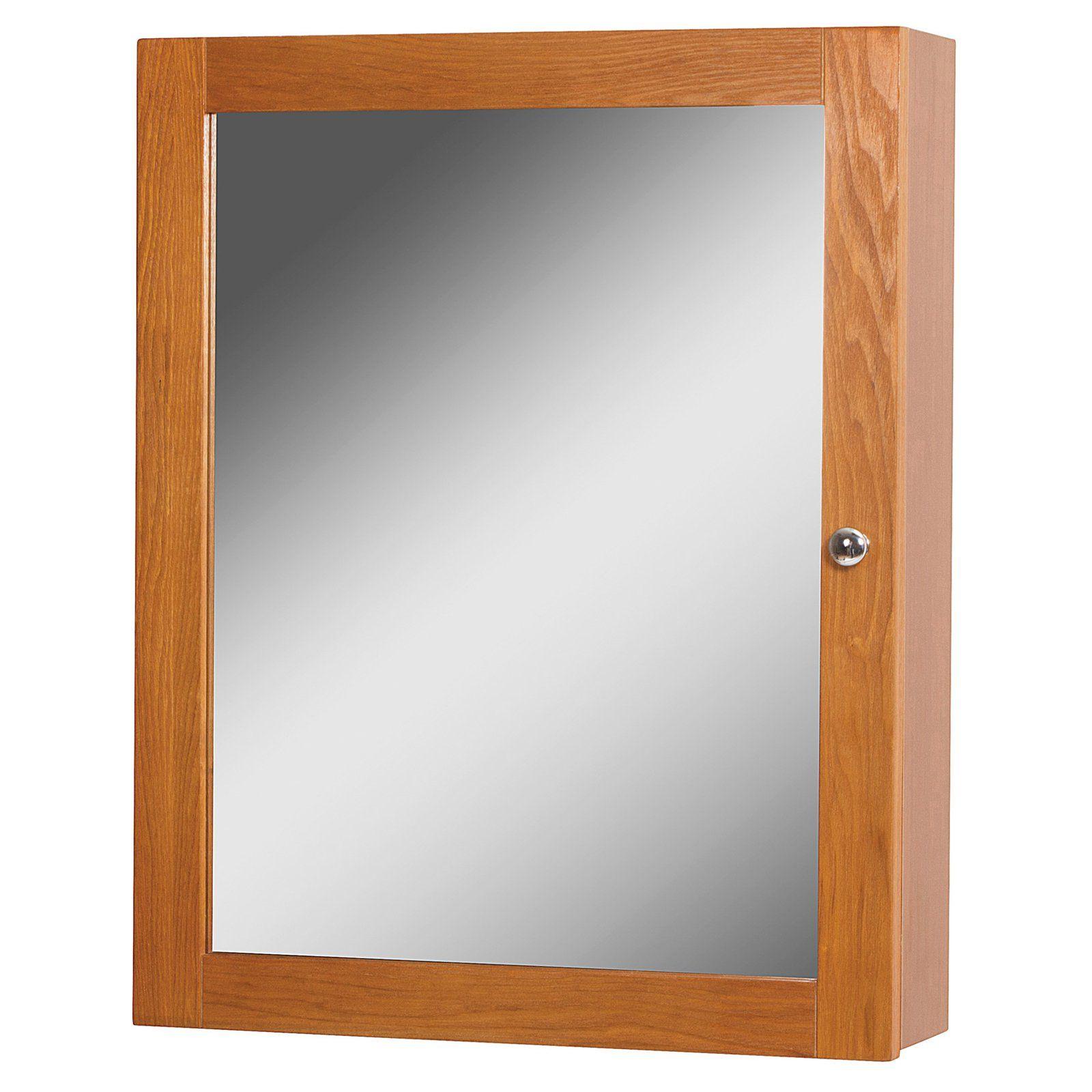 Foremost Worthington Bathroom Medicine Cabinet Oak Bathroom