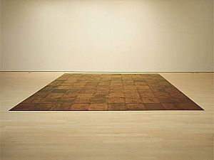 Andre, 10 x 10 Altstadt Copper Square, 1967