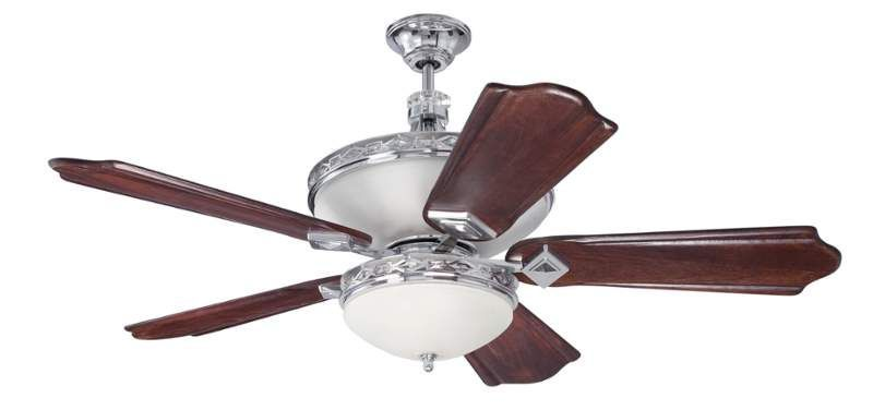 Craftmade sar52 saratoga 52 5 blade indoor ceiling fan light kit craftmade sar52 saratoga 52 5 blade indoor ceiling fan light kit and remote i aloadofball Image collections