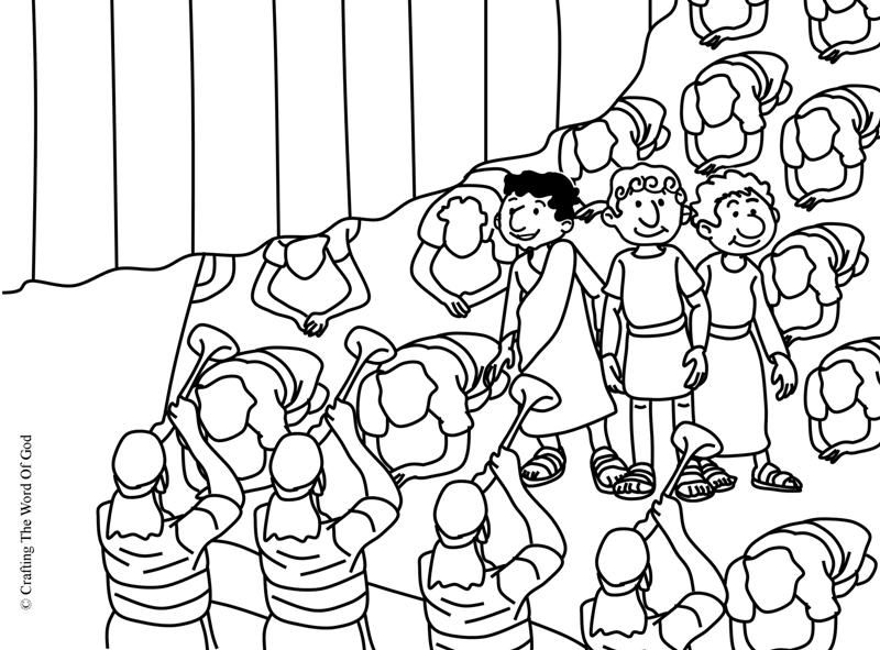 King Nebuchadnezzars Gold Statue Coloring Page Day 3