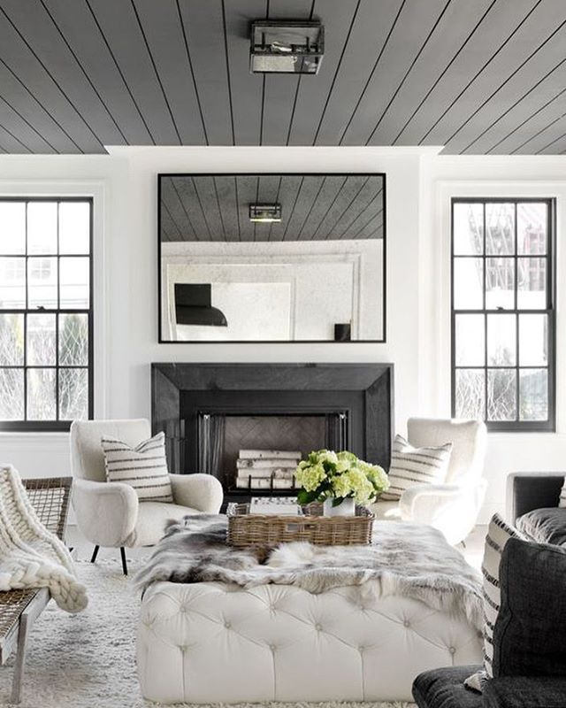 grey living room furniture%0A Keeping it monochromatic and modern is clearly a good idea  This living room  by