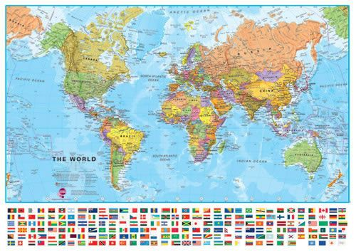 99 ideas Map Of The World With Countries In English on