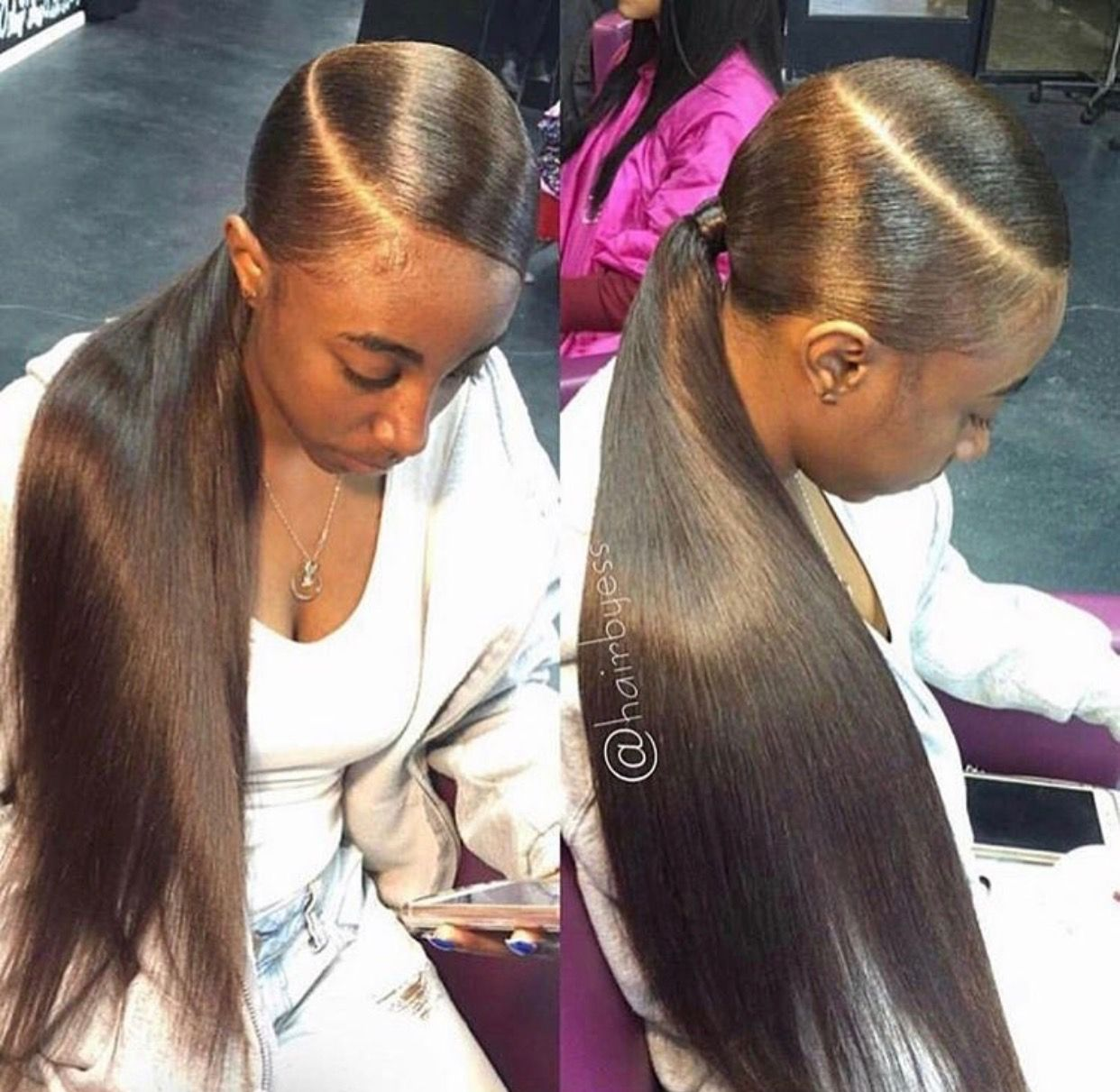 Pinterest Creativetayy Ponytail Hairstyles Black