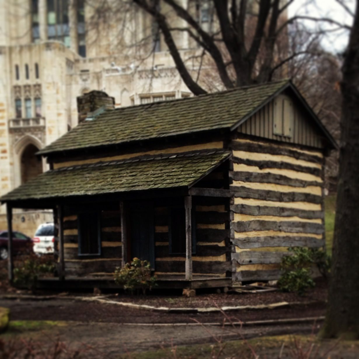 Log Cabin, University Of Pittsburgh, Oakland