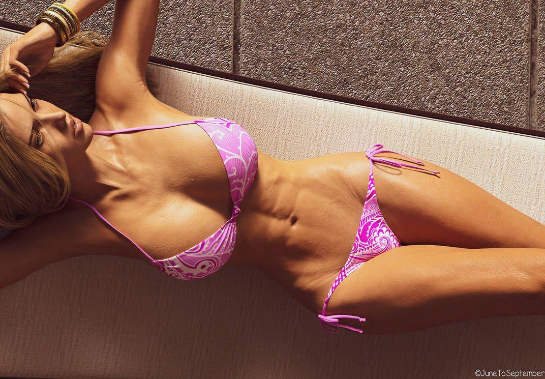 Alyssa Pink Bikini 1 By Junetoseptember