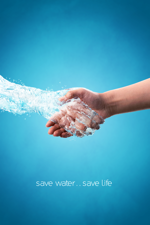 Save Water Save Life by Banan Shakarnah 9ce360a792a