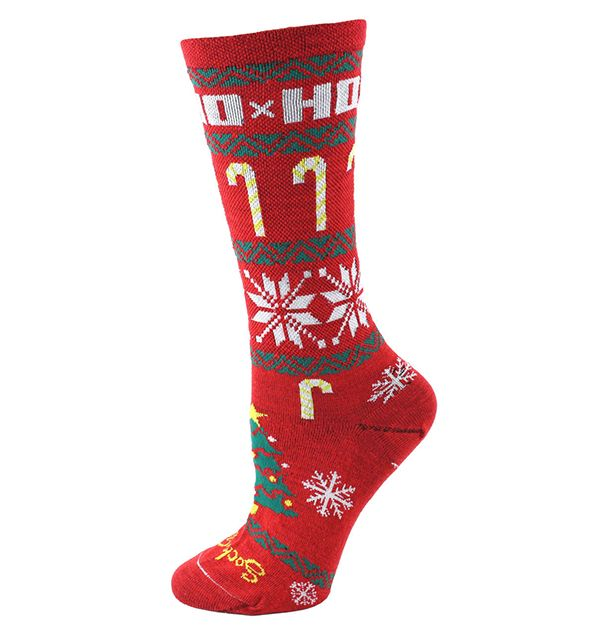 Holiday-Themed Running Socks