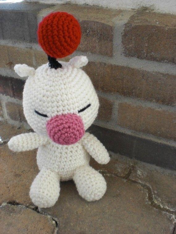 Moogle Crochet Amigurumi Plushie von amiamour auf Etsy   Häkeln ...