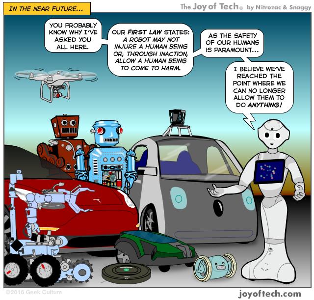 AI is getting an IQ! #comic #humor #tech | Tech Humor | Tech