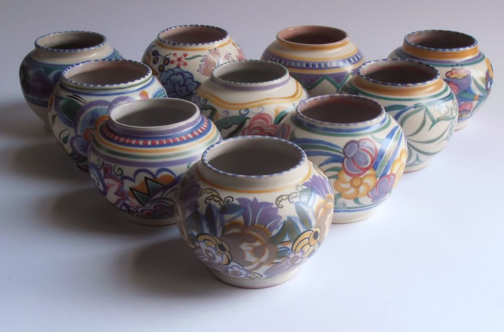 Poole Pottery Traditional Vases All Shape Number 354 85cm Tall Or