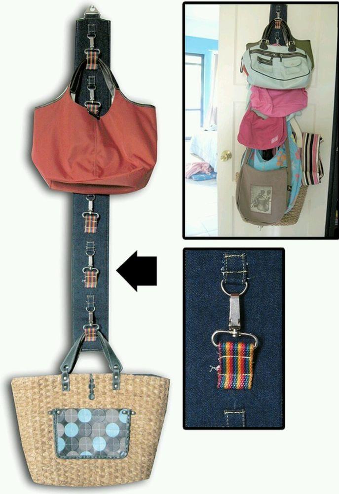 Heavy Duty Handbag Hanger Organiser Bag Tidy Purse Storage Holder Space Saver Purse Organization Purse Organization Storage Handbag Storage