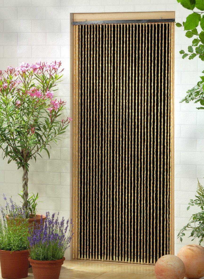 holzperlenvorhang perlenvorhang t rvorhang 39 sumatra 39 ca 90x200cm bxh ebay k che. Black Bedroom Furniture Sets. Home Design Ideas