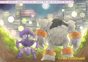 Day 124d - Genesect | Page Four, 4/4 by AutobotTesla