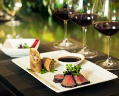 The art of Food & Wine pairing at J Vineyard & Winery's Bubble Room.