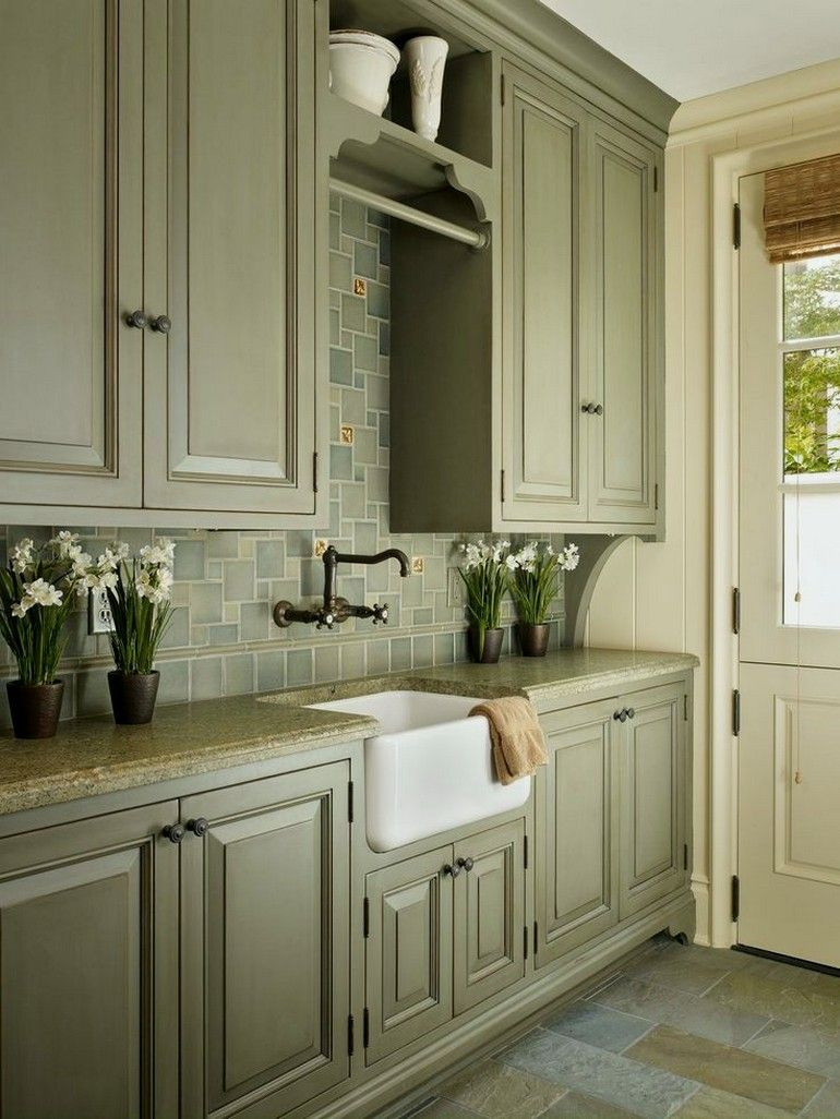 32+ most popular kitchen cabinet paint color ideas 00021 ...