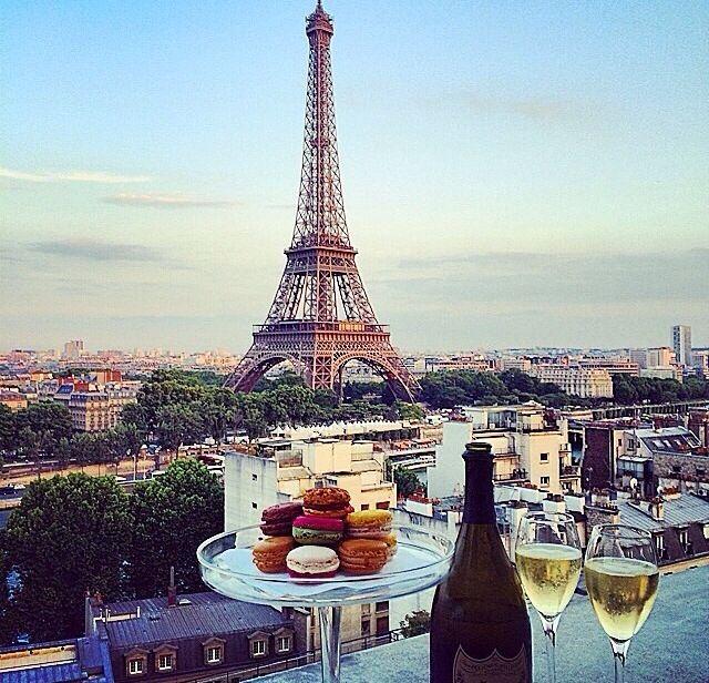 Meal in Paris
