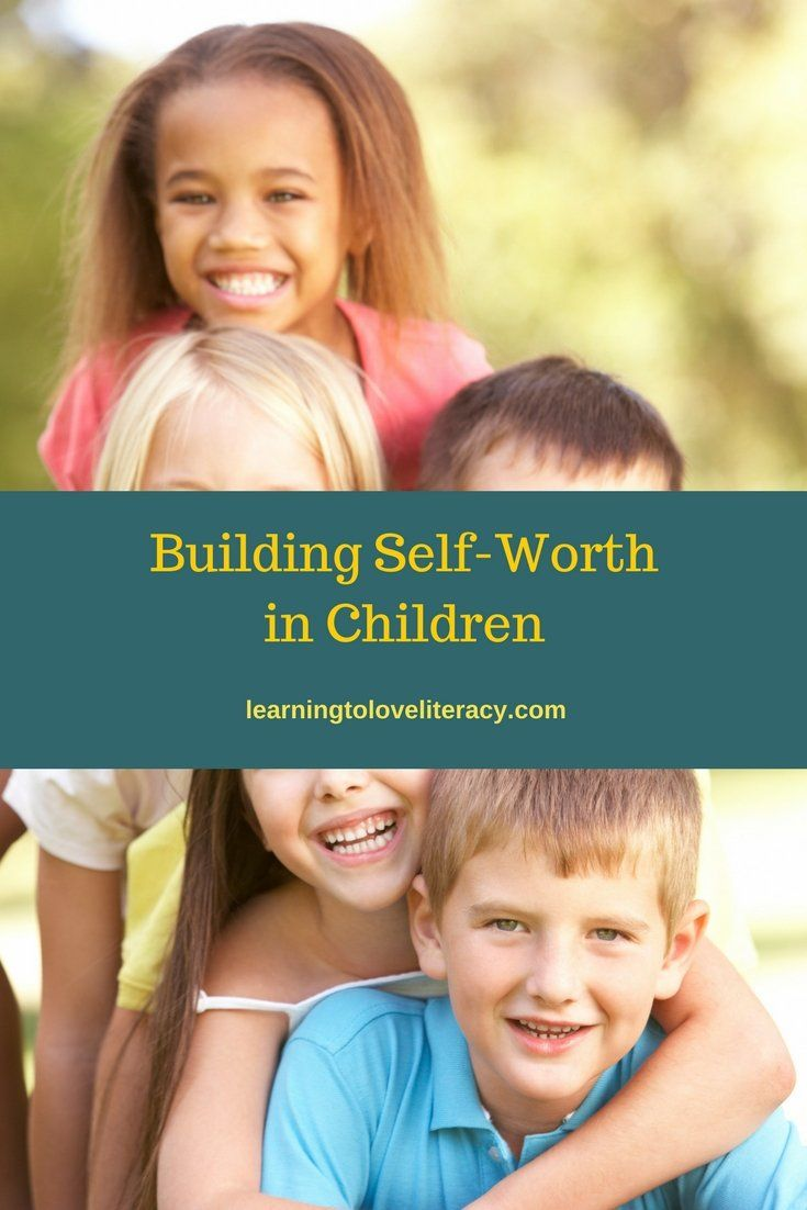 Building Self-Worth In Children