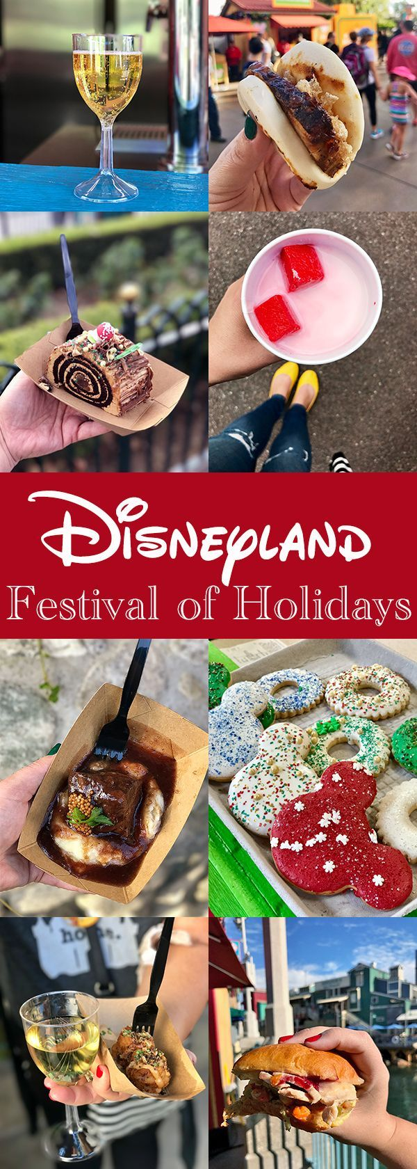 Disneyland Festival of Holidays at California Adventure Park #disneylandfood