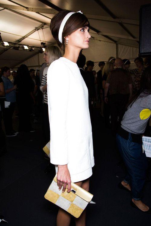 Loulou Robert x Backstage atLouis Vuitton S/S 2013 Paris