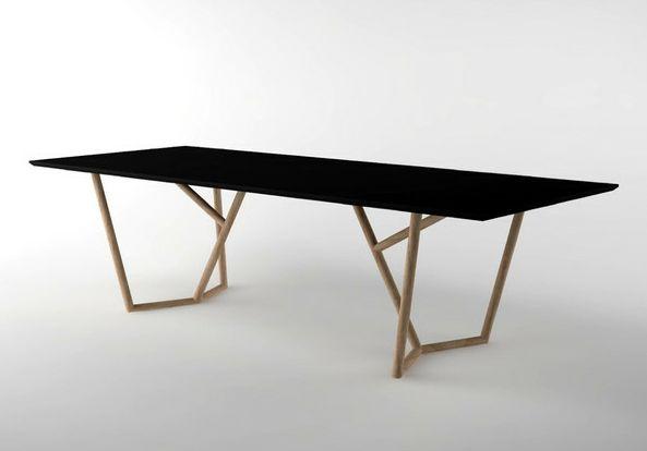 die besten 25 metal base dining table ideen auf pinterest selbermachen esszimmer tisch. Black Bedroom Furniture Sets. Home Design Ideas