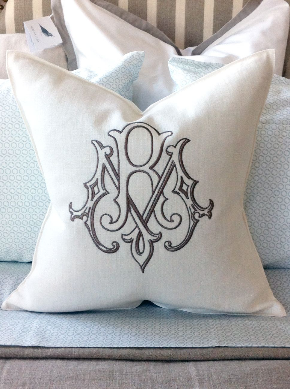 bench pillows porch farm pillow diy back monogram thistlewood