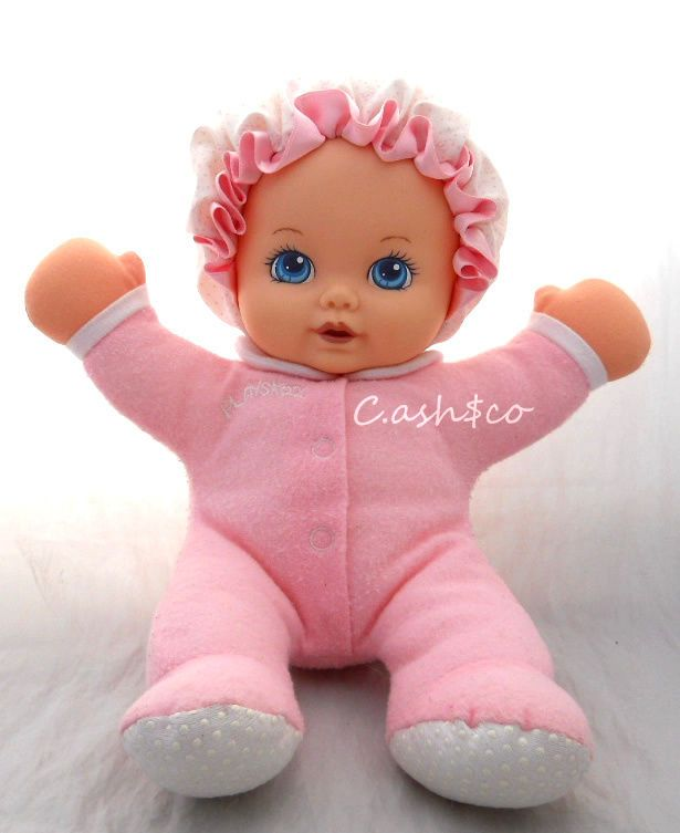 Details About Playskool My Very Soft Baby Girl Pink Plush