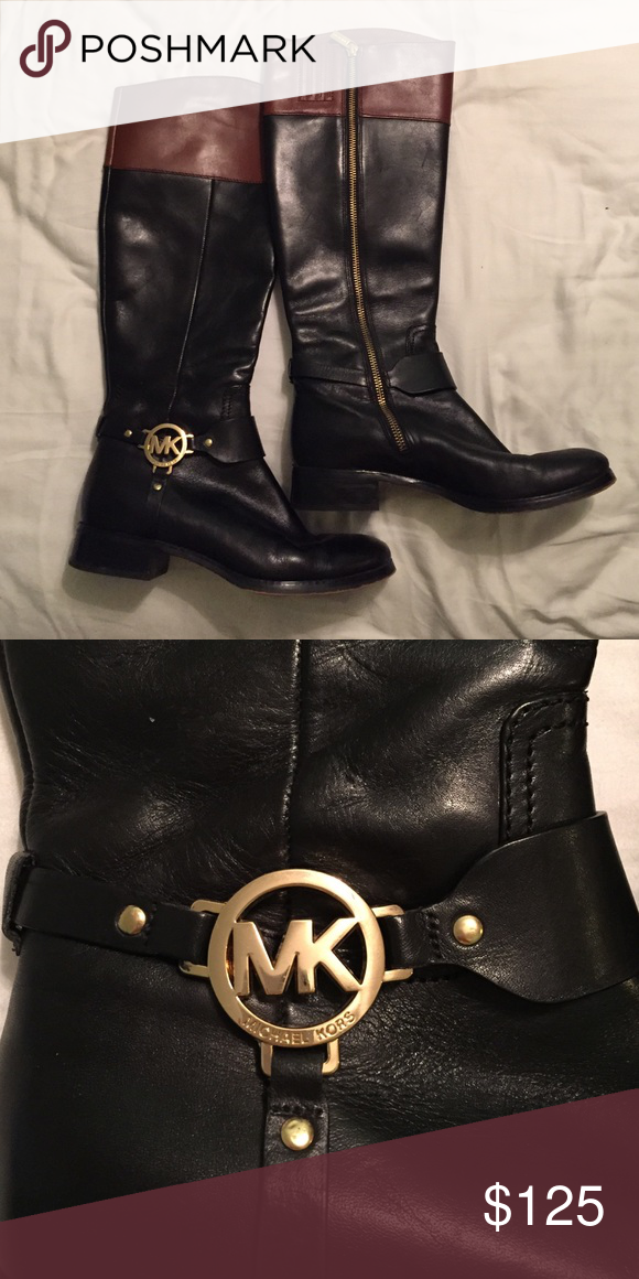 Michael Kors - Tall Riding Boots - Size 8M worn a few times, no visible damage Michael Kors Shoes Winter & Rain Boots
