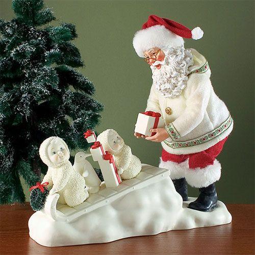 Snowbabies | Possible Dreams Snowbabies with Santa