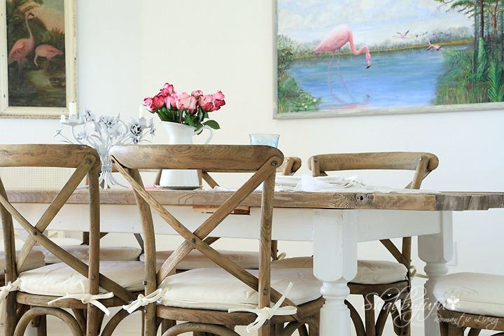 My DIY Table At Our Beach House To Look Like Driftwoodall