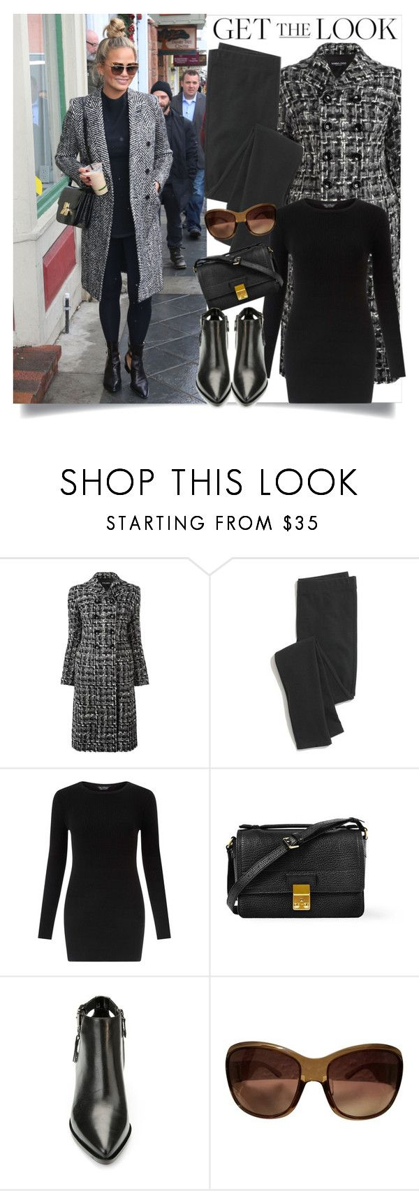 """Get The Look/Chrissy Teigan"" by clotheshawg ❤ liked on Polyvore featuring Dolce&Gabbana, Madewell, Miss Selfridge, 3.1 Phillip Lim, Geox and Christian Dior"