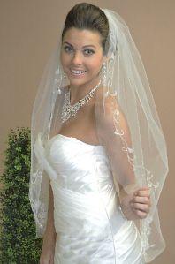 96cd1cd630f Custom Wedding Veils 617 available now at Macy s Bridal Salon in Chicago   macysbridalsalon