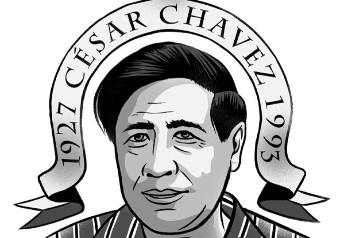 Cesar Chavez Drawing