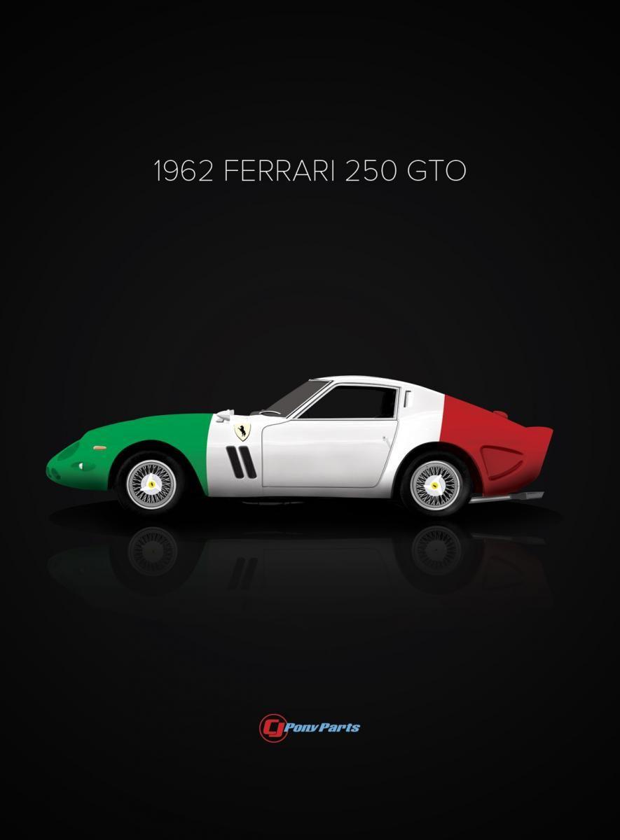 1962 Ferrari 250 GTO   Style N Design   Pinterest   Ferrari, Cars And Car  Posters