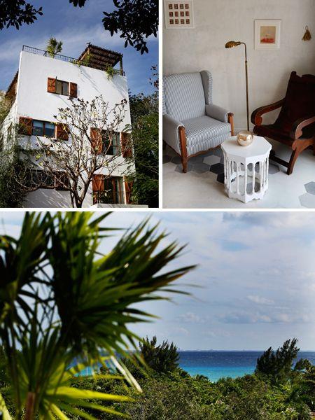 MEXICO CITY GUIDE: where to stay - Hotel La Semilla, Playa del Carmen