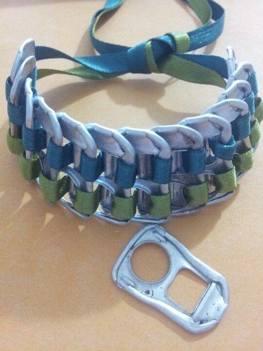 """1/"""" Nellie hecho a mano collar de perro"""