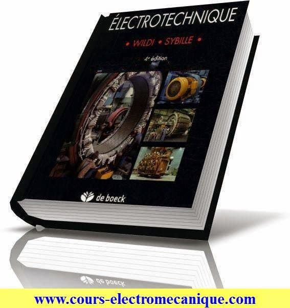 Livre Electrotechnique 4 Eme Edition Cours D Electromecanique Electrical Installation Technology Electricity