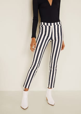 Sale Online 2019 For Women Mango Usa Slim Fit Trousers Women Slim Fit Trousers Trousers