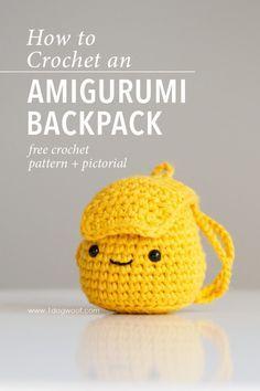 Amigurumi Backpack Crochet Pattern