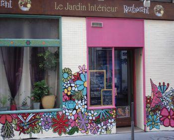 Restaurant Jardin Intérieur Lyon Croix Rousse - Vegan - bio ...