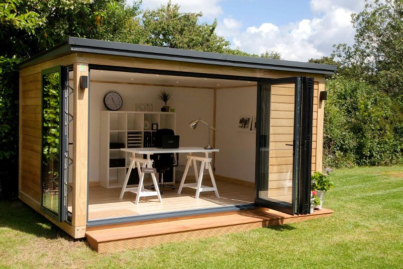 How To Secure Your Garden Office From Burglary Summer House Design Garden Office Shed Backyard Office